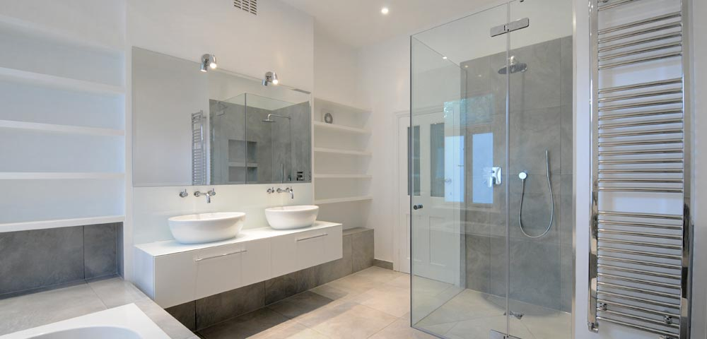 Modern bathrooms designed and perfectly fitted