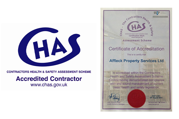 CHAS Accredited Contractor London - Affleck